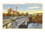 Davenport Street Bridge, Rhinelander, Wisconsin Prints