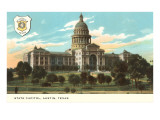 State Capitol, Austin, Texas Poster