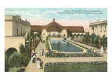 Botanical Building, Lily Pond, Balboa Park, San Diego Posters