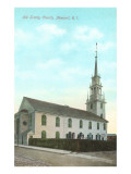 Old Trinity Church, Newport, Rhode Island Prints