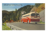Bus in Great Smoky Mountains Posters