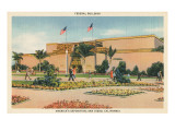 Federal Building, World's Fair, San Diego, California Photo