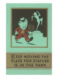 Keep Moving Affiches