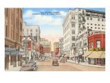 San Antonio Street, El Paso, Texas Prints