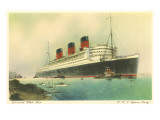 Cunard Ocean Liner RMS Queen Mary Prints