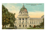 State Capitol, Harrisburg, Pennsylvania Poster