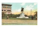 Burnside Monument, Providence, Rhode Island Posters