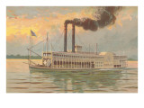 Mississippi River Boat, Robert E. Lee Poster
