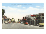 Main Street, Oceanside, California Poster