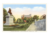 Jackson Monument, Nashville, Tennessee Prints