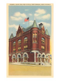 Federal Court and Post Office, Martinsburg, West Virginia Posters
