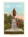 Statue of Pocahontas, Jamestown, Virginia Posters