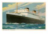 Cunard Britannic, Ocean Liner Posters