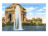 Palace of Fine Arts, San Francisco, California Print