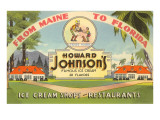 Ad for Howard Johnson's Prints