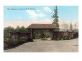Entrance to Cowern Park, Seattle, Washington Poster