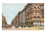 Riverside Avenue, Spokane, Washington Prints