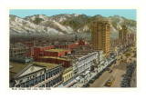 Main Street, Salt Lake City, Utah Posters