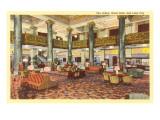 Lobby, Hotel Utah, Salt Lake City, Utah Posters