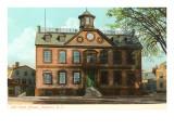 Casa de gobierno antigua, Newport, Rhode Island Póster