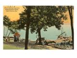 YMCA Boat Landing, Lake Geneva, Wisconsin Posters