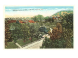 Elmwood Park, Roanoke, Virginia Posters