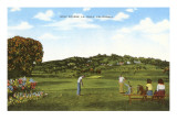 Golf Course, La Jolla, California Prints