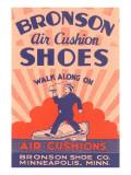 Bronson Air Cushion Shoes Prints