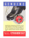 Work Boot Advertisement Posters