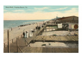 Boardwalk, Virginia Beach, Virginia Poster
