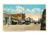 State Street, Santa Barbara, Kalifornien Poster