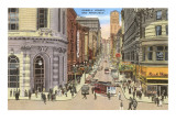 Powell Street, Cable Car, San Francisco, California Prints