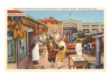 Fisherman's Wharf, San Francisco, California Poster