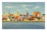 Skyline of San Diego, California Posters