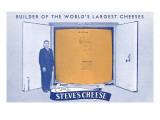 Steve's Cheese Vault, Denmark, Wisconsin Print