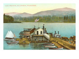 Lake Whatcom, Bellingham, Washington Print