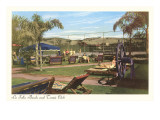 La Jolla Beach and Tennis Club, La Jolla, California Print