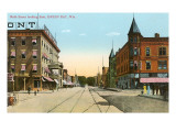 Main Street, Green Bay, Wisconsin Posters