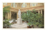 Japanese Palm Garden, Jefferson Hotel, Richmond, Virginia Prints