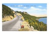 Austin-See, Mount Bonnell, Austin, Texas Kunstdrucke