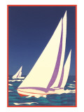 Yacht Race, Graphics Poster
