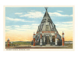 Wigwam Gas Station, Browning, Montana Prints