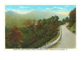 Highway near Lynchburg, Virginia Prints