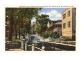 River through San Antonio, Texas Posters