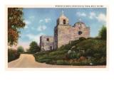 Mission La Bahia, Goliad, Texas Print