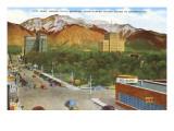 City Park, Ogden, Utah Poster