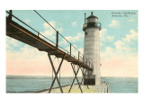 Lighthouse, Kenosha, Wisconsin Art