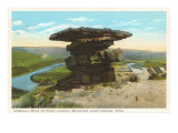 Umbrella Rock, Lookout Mountain, Tennessee Posters