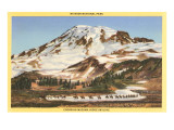 Mt. Rainier, Mazama Ridge, Washington Posters