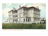 The Breakers, Vanderbilt House, Rhode Island Poster